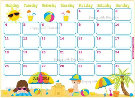 printable summer holiday planner 1000 images about happy with printables on pinterest