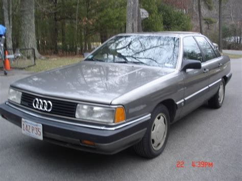 how petrol cars work 1987 audi 5000s electronic toll collection doctord151515 1987 audi 5000 specs photos modification info at cardomain
