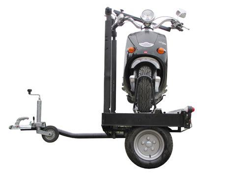 Motorrad Quer In Garage by Alu Rolli Motorradanh 228 Nger Transport Anh 228 Nger Roller