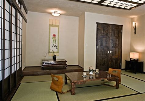 japanese style room japanese style living room with traditional pendant light