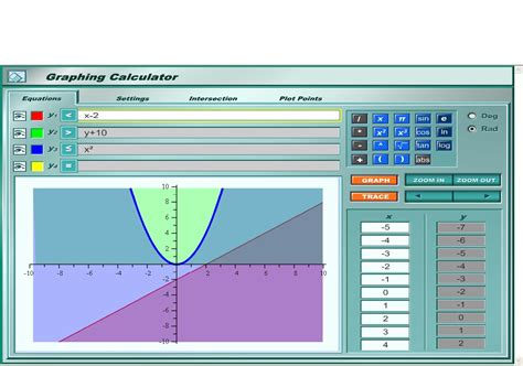 graphing tools how to plot x and y on graphing calculator