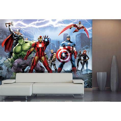 marvel avengers bedroom wallpaper marvel avengers team wallpaper xxl great kidsbedrooms