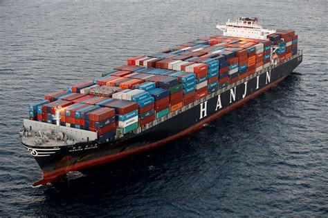 hanjin to samsung 163 38m of appliances stuck on hanjin ghost ships