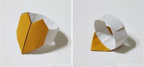 Ring Origami - 17 best images about origami ring on