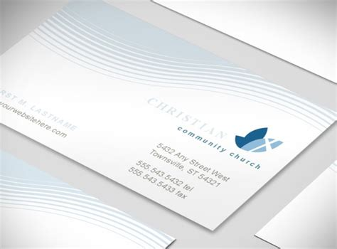 ministry card template christian ministry business card templates mycreativeshop