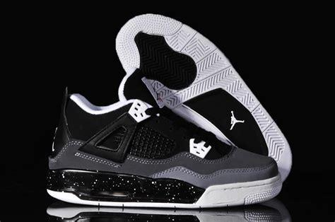 womens air jordan 4 c air jordan 4 women shoes black white online nike1184