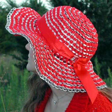 How To Make A Soda Hat Out Of Paper - 15 creative soda can crafts hative
