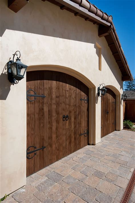 A1 Garage Doors Garage And Shed Mediterranean With Arched A1 Overhead Door