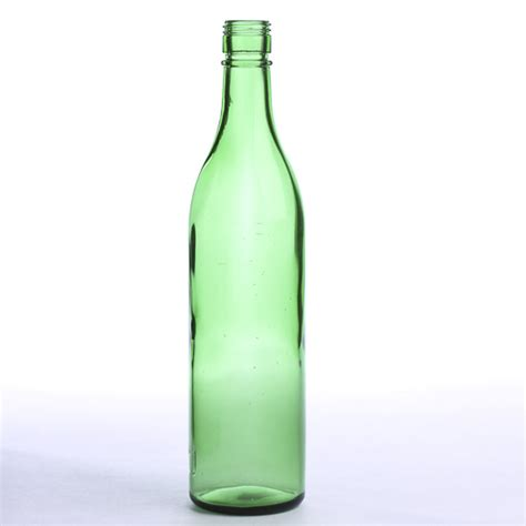 vintage thick green glass bottle decorative containers