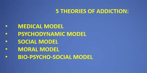 Social Model Detox And Mainecare by 5 Theories Of Addiction Model Psychodynamic