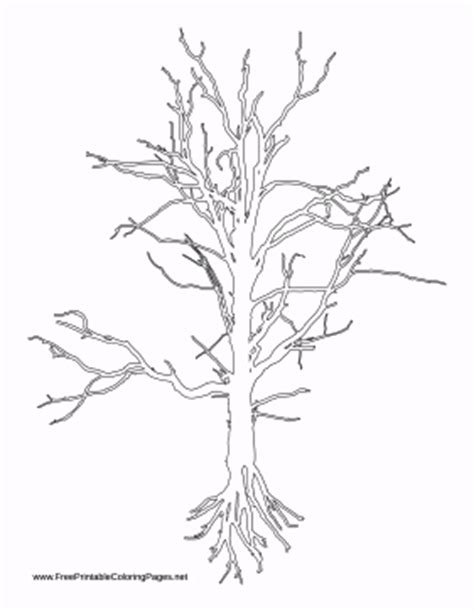 coloring page of tree with roots simple tree roots coloring pages