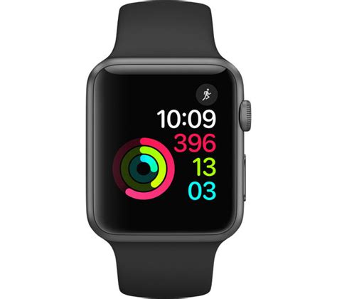 Apple Series 1 42mm Review by Buy Apple Series 1 Black 42 Mm Free Delivery Currys