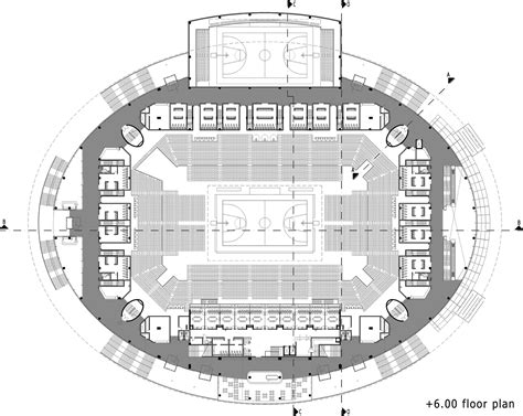 basketball arena floor plan gallery of ankara arena yazgan design architecture 19