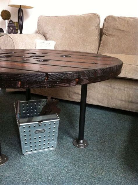 Upcycled Coffee Table Ideas Upcycled Large Spool Coffee Table Coffee Table By Hansonhaus Diy Discover