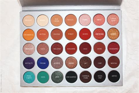 Morphe X Hill Palette morphe x hill eyeshadow palette review swatches