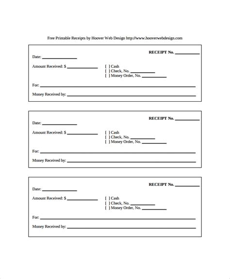 as is receipt template 28 receipt templates sle templates