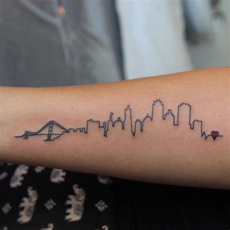 watercolor tattoos johannesburg best 25 skyline ideas on city
