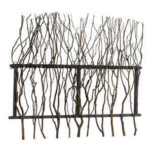 cyan design 04192 branch decor outdoor wall rosewood