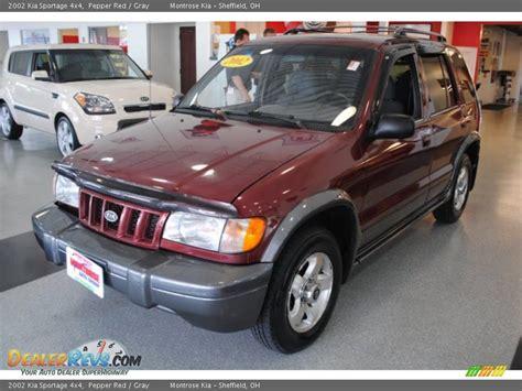 2002 Kia Sportage 4x4 2002 Kia Sportage 4x4 Pepper Gray Photo 3