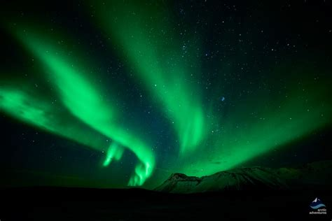 northern lights when and where caving and northern lights minibus tour arctic adventures