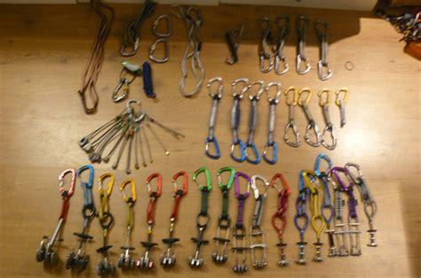 Climbing Trad Rack by Rock Climbing Forums Climbing Disciplines Trad Climbing