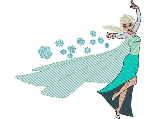 embroidery design elsa frozen frozen elsa 3