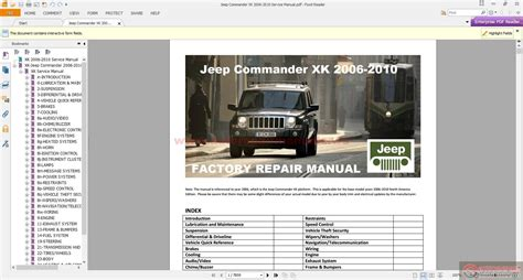 car repair manual download 2006 jeep commander engine control service manual 2010 jeep commander workshop manual download 2010 archives car and motorcycle