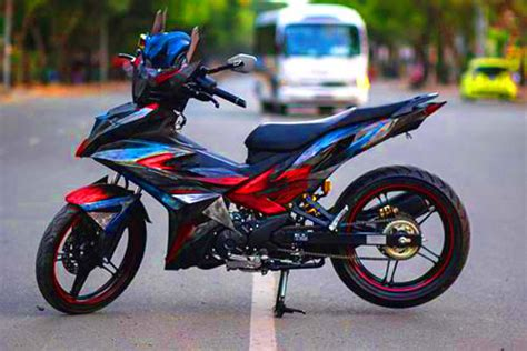 Modification Jupiter Mx King modifikasi new yamaha jupiter mx king 150 motorblitz