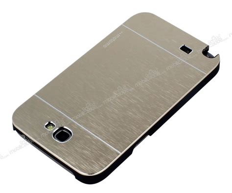 Motomo Ino Samsung Note 2 Galaxy N7100 Metal Polos T2909 motomo samsung n7100 galaxy note 2 metal gold k箟l箟f stoktan teslim