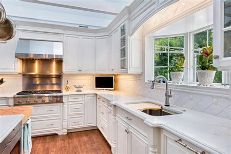 kitchen cabinets luxury luxury white kitchen avon nj by design line kitchens