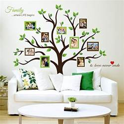 tree photo frames wall decal peel stick removable vinyl art stickers kids room walls make funny and decals