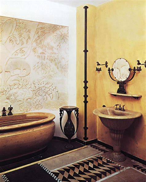 Glam Bathroom Ideas by 20 Stunning Art Deco Style Bathroom Design Ideas