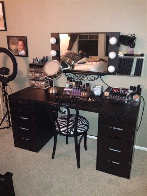 black vanity table ikea 12 best built in dressing tables images on