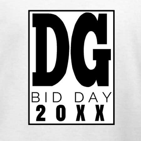 sorority bid card template delta gamma bid day t shirt design template use this