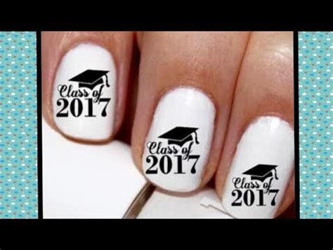 imagenes de uñas decoradas para graduacion u 209 as para graduaci 211 n youtube