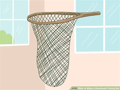 Handmade Fishing Net - how to make a handmade fishing net 15 steps with pictures