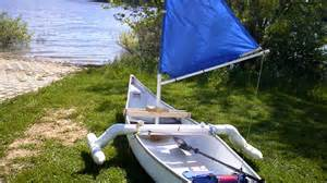 Cheap Home Plans To Build how to make a simple sail for a canoe kayak dingy for