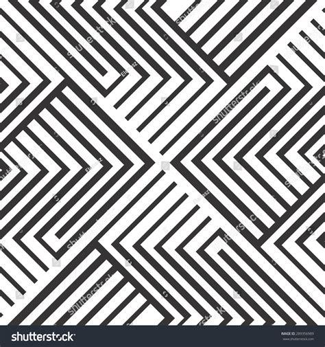 movement pattern en francais seamless pattern black white stripes design stock vector