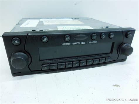porsche stereo porsche 911 996 boxster radio stereo cr220 cr 220 cr 220
