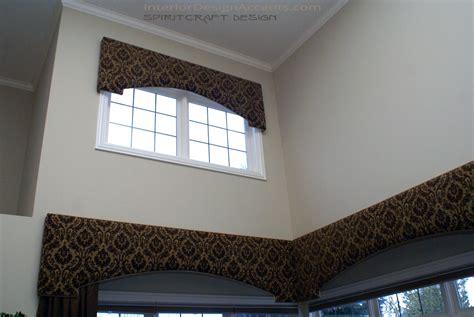 Decorative Window Cornice Cornice Window Treatments With Drapery Panels Interior