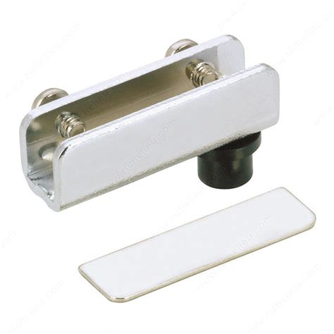 Pivot Hinge For Glass Door Recessed Within Furniture Or Glass Door Hardware