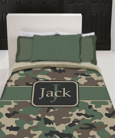 camo bedding twin personalized custom camo bedding duvet cover twin by redbeauty