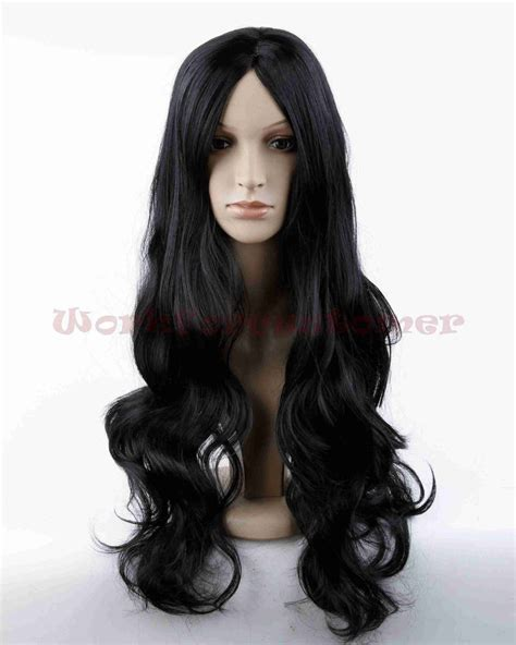 new fashion brown wig s wavy womens brown curly wavy wigs hair