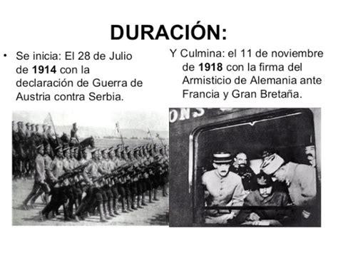 Resumen 1 Guerra Mundial by Historia De La Primera Guerra Mundial Resumen