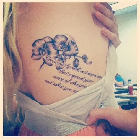 tattoo flower quotes who you are tattoo quotes quotesgram