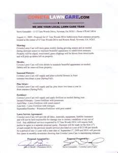 Pin lawn care service contract template on pinterest