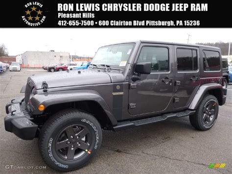 jeep metallic 2016 granite metallic jeep wrangler unlimited