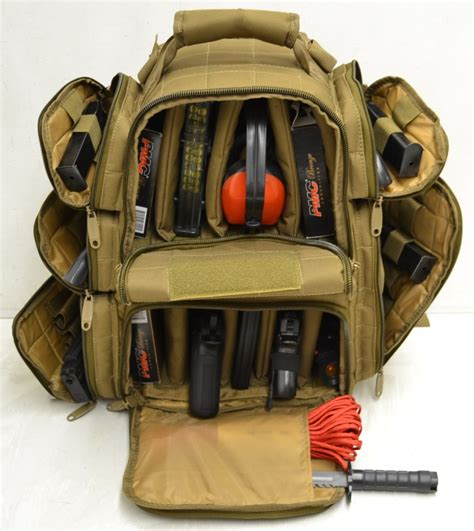 r4 explorer heavy duty tactical range backpack to carry 10