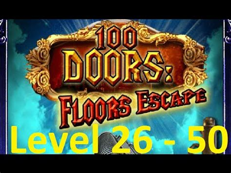100 floors level 50 tower 100 doors floors escape level 26 50 tower 100