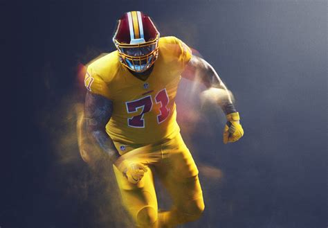 redskins colors the washington redskins are rebelling against the nike s
